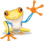 Frosch Illu