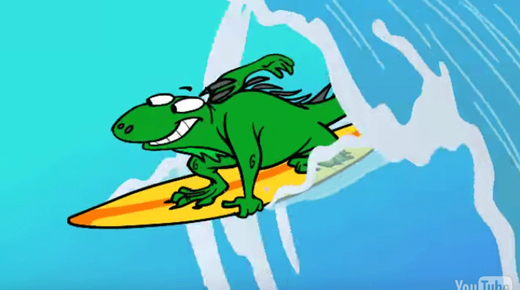 Iguana Song Leguan Lied